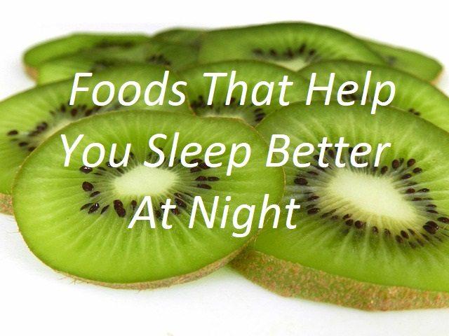 10 Foods That Help You Sleep Better At Night Sleepzoo