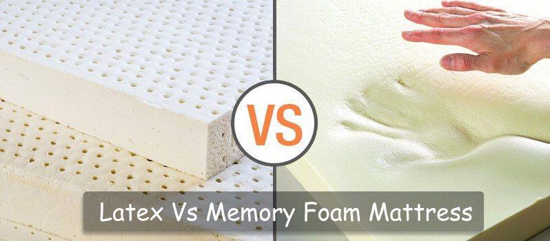 latex vs memory foam