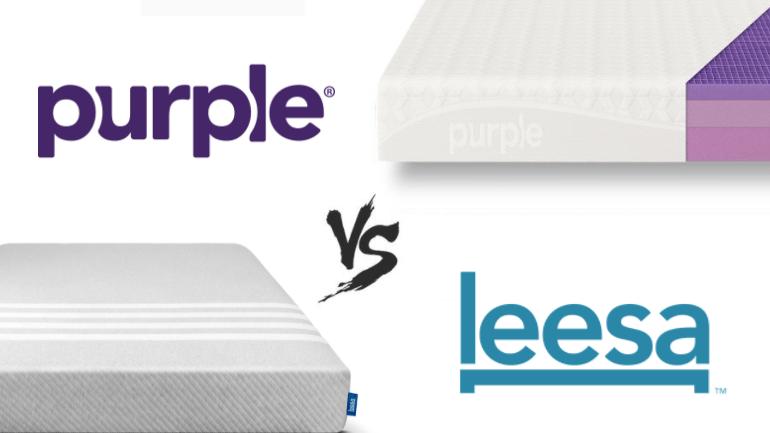 Mattress Brand Reviews >> Leesa Vs Purple Mattress Comparison 2018 Detailed Review
