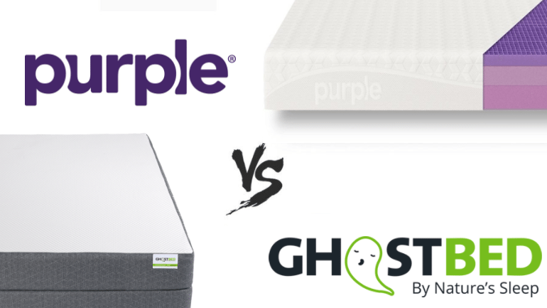 purple vs ghostbed