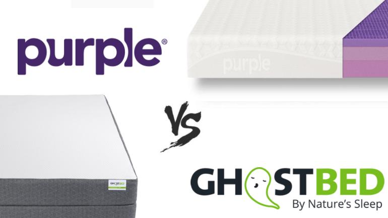 purple vs ghostbed