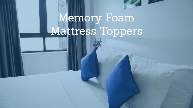 Best Memory Foam Mattress Topper 2020 Reviews Buying Guide