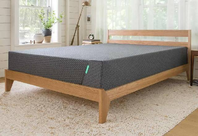 Mint Mattress on Bed frame